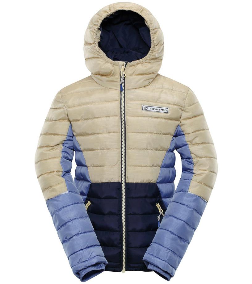 ALPINE PRO BARROKO 4 Dětská zimní bunda KJCP150216 sunlight 104-110
