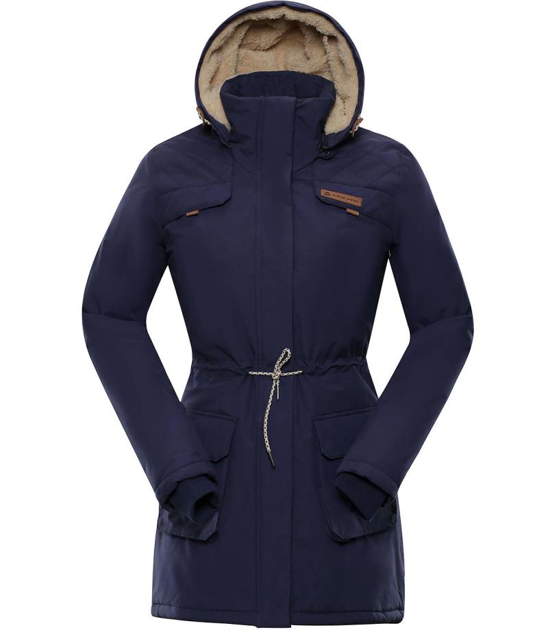 ALPINE PRO EDITE 5 Dámský zimní kabát LCTP103602 mood indigo S-L