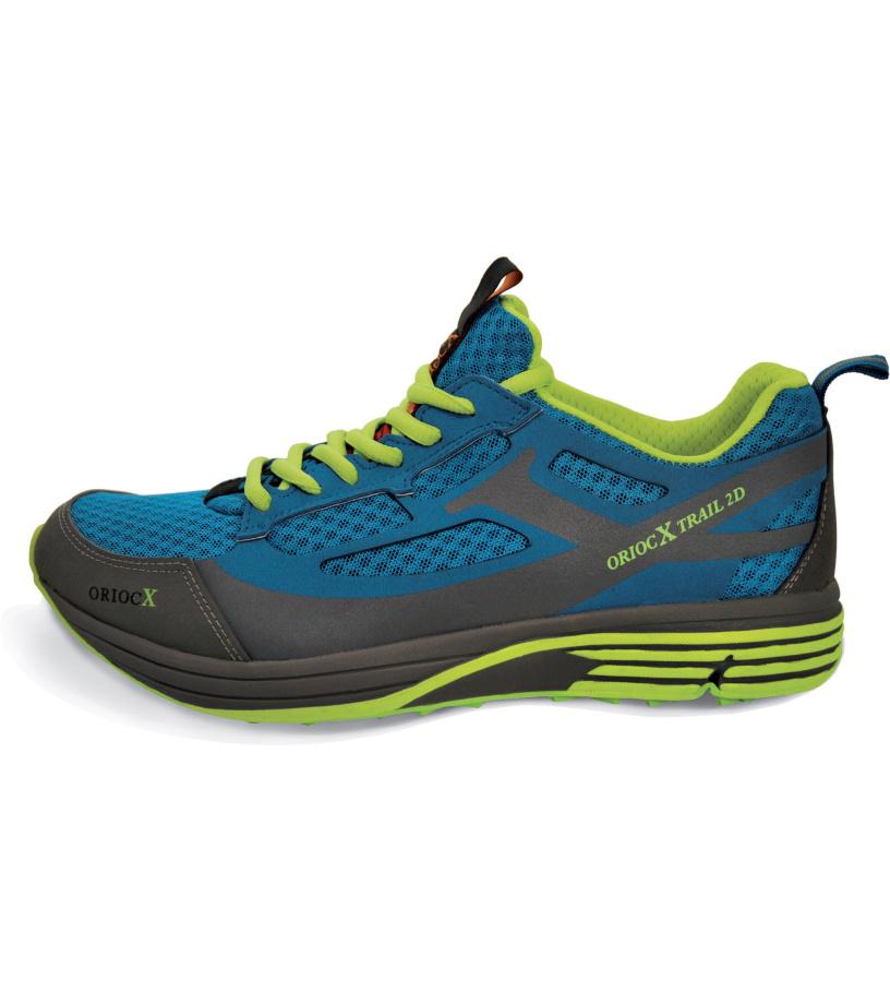 ORIOCX MAHAVE Unisex běžecká obuv 0010ORIOBLU Modrá