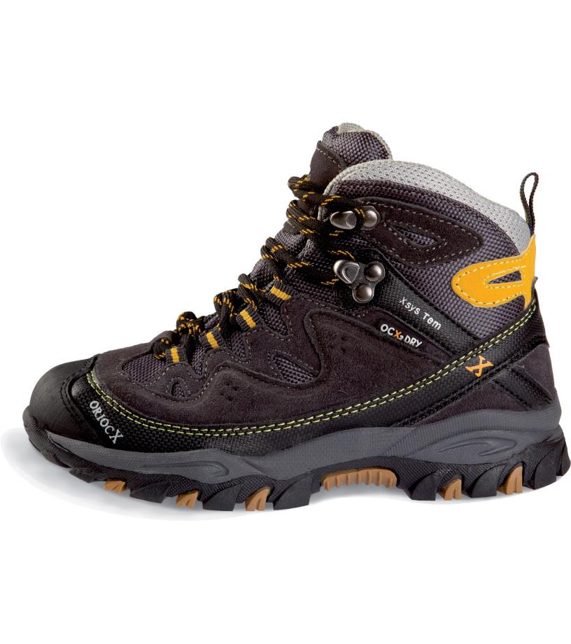 2493cda9726 ORIOCX NAJERA NECK Dětská trekkingová obuv 0013ORIOGRY Šedá 31