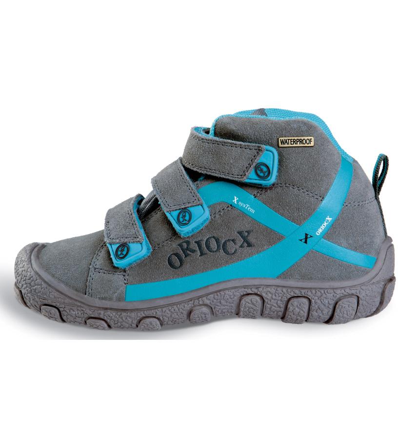 ORIOCX TRICIO - boot Dětská trekkingová obuv 0021ORIOGRY Šedá 25