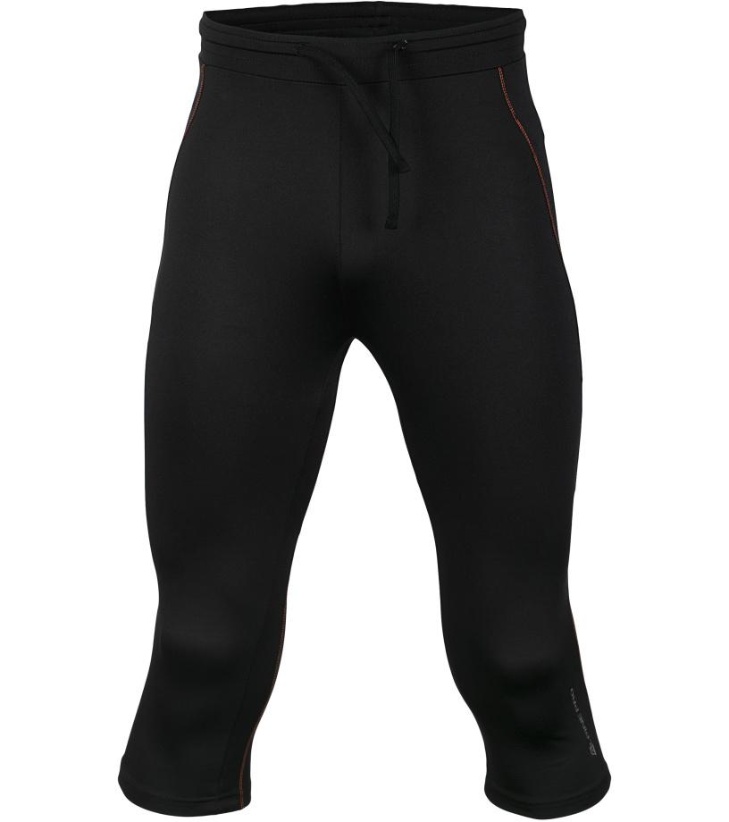 ALPINE PRO ENZO Pánské capri kalhoty MPAJ101990PA černá M