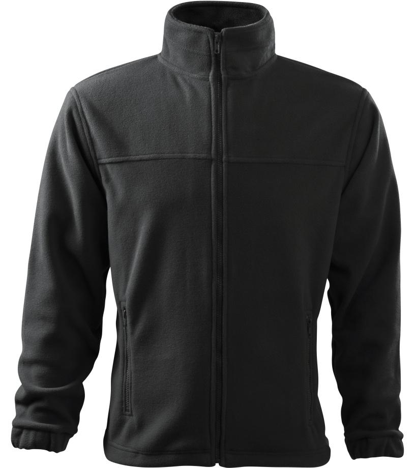 ADLER Jacket 280 Pánská fleece bunda 50194 eben šedá S