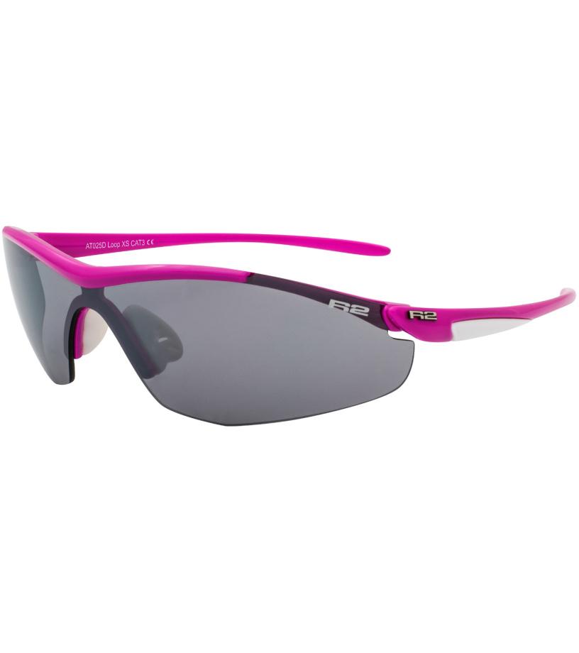 R2 LADY Sportovní sluneční brýle AT025D růžová
