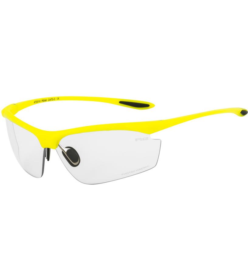 R2 PEAK Sportovní sluneční brýle AT031H žlutá