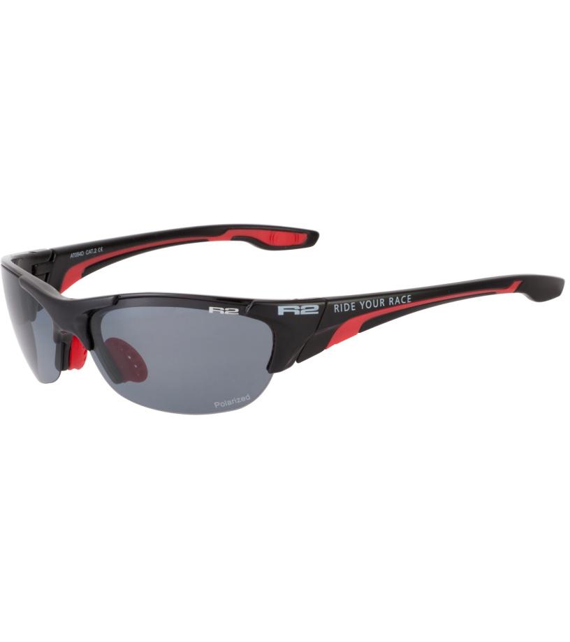 R2 CHEETAH Sportovní sluneční brýle AT054D černá