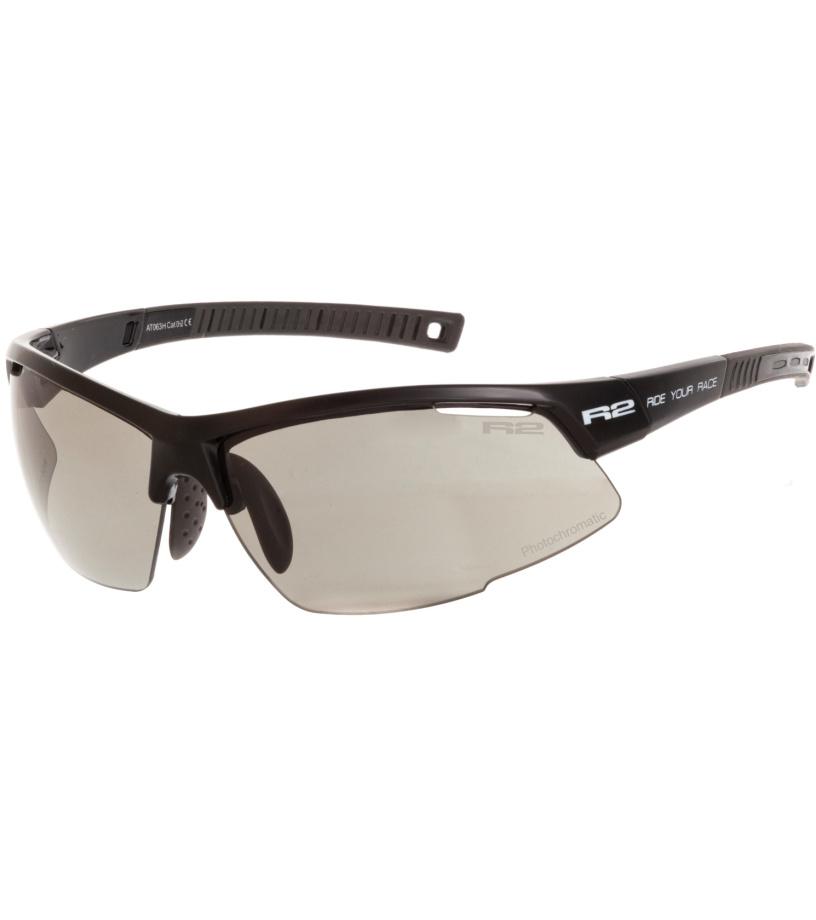 R2 RACER Sportovní sluneční brýle AT063H černá
