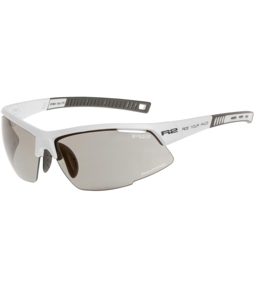 R2 RACER Sportovní sluneční brýle AT063K bílá