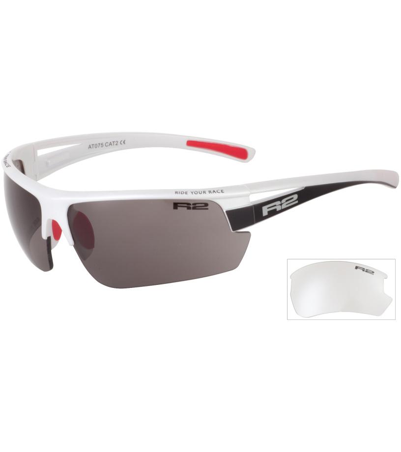 R2 SKINNER Sportovní sluneční brýle AT075 bílá
