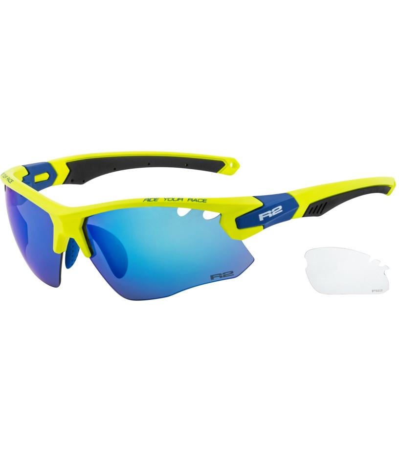R2 CROWN Sportovní sluneční brýle AT078E