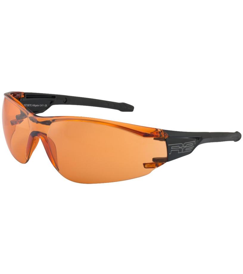 R2 ALLIGATOR Sportovní brýle AT087E černá