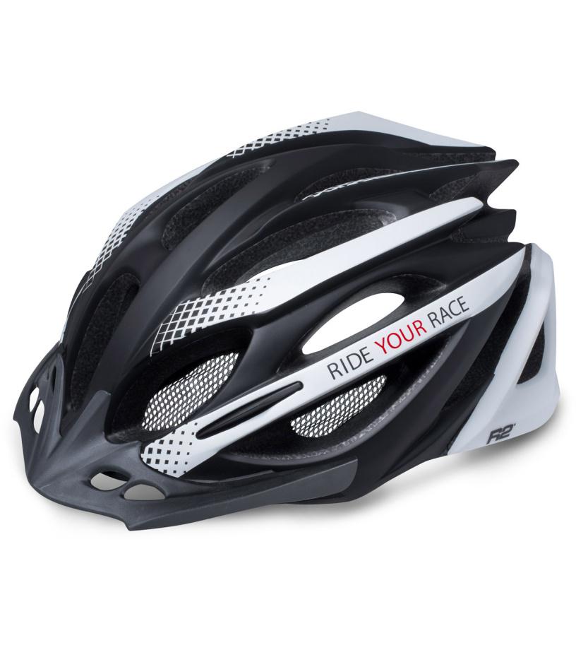 R2 PRO-TEC Cyklistická helma ATH02J černá M