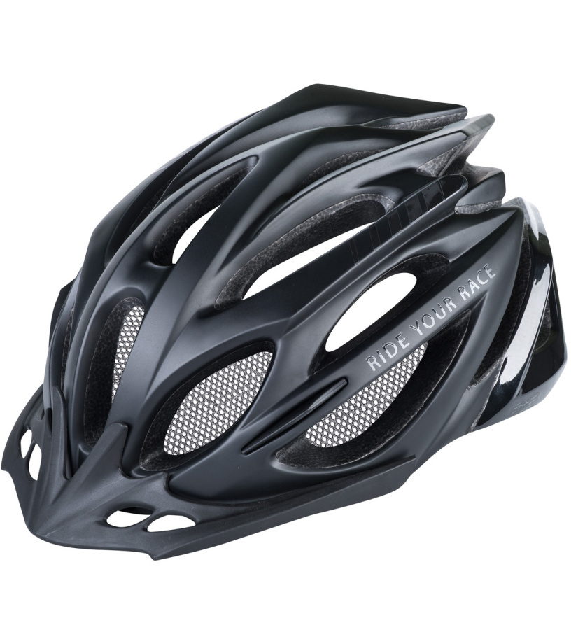 R2 PRO-TEC Cyklistická helma ATH02N černá M