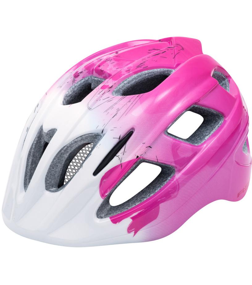R2 BONDY Dětská cyklistická helma ATH07G růžová S