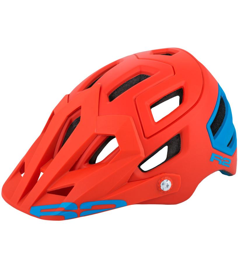 R2 TRAIL Cyklistická helma ATH08F oranžová M