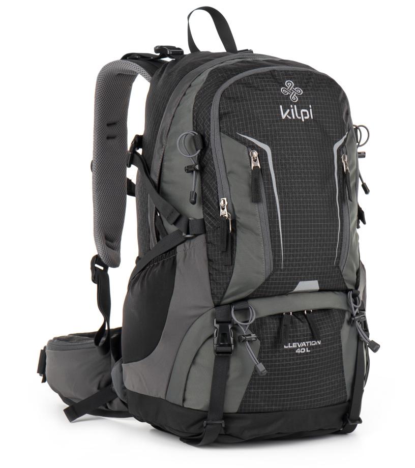 KILPI Turistický batoh 40L ELEVATION GU0008KIBLK Černá 40l