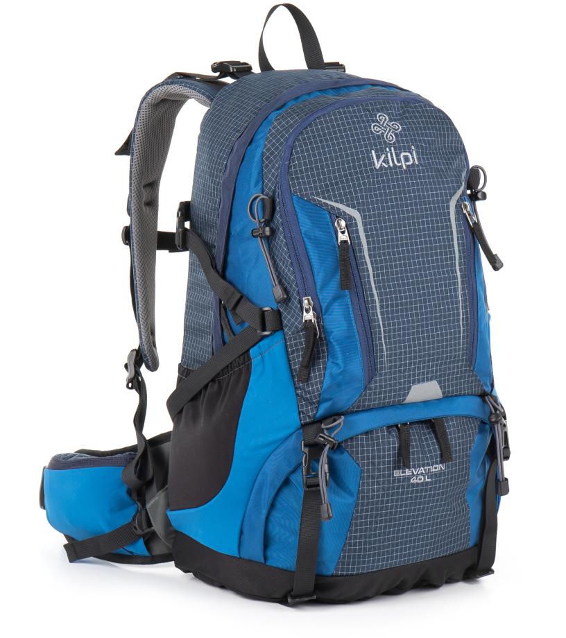 KILPI Turistický batoh 40L ELEVATION GU0008KIBLU Modrá 40l