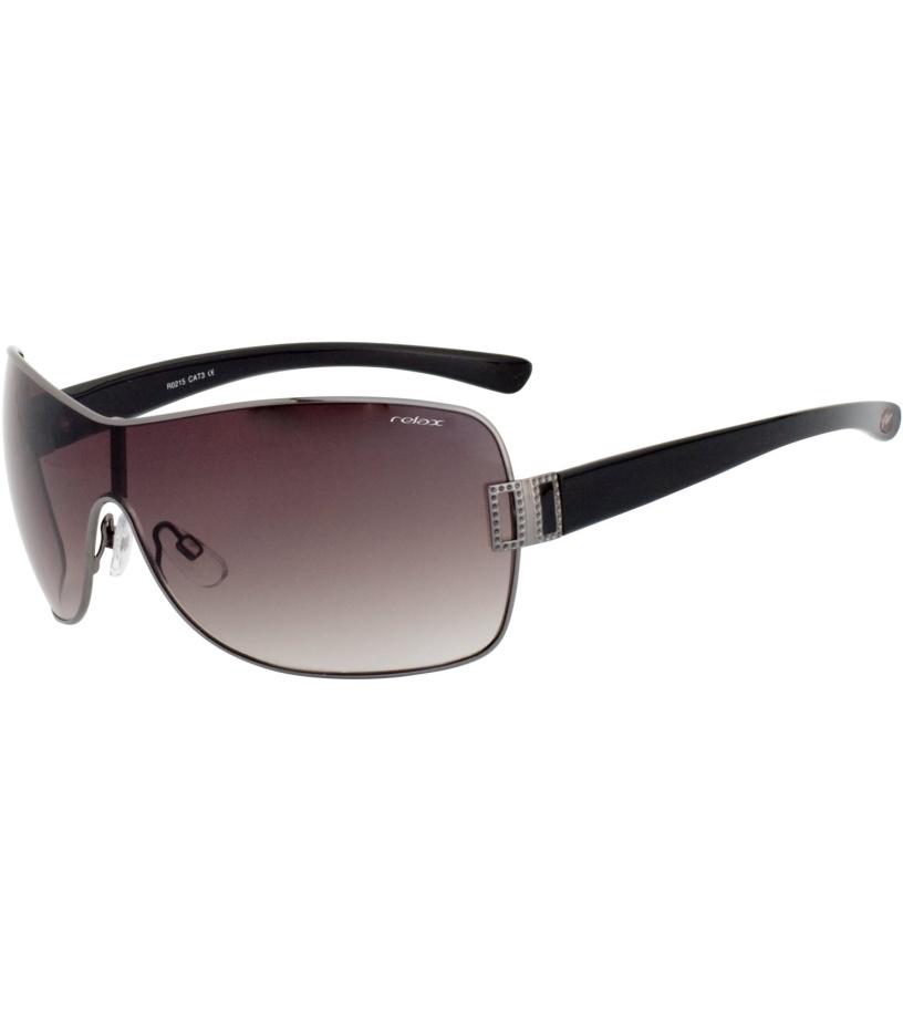 RELAX Capri Sluneční brýle R0215 tmavě kovová