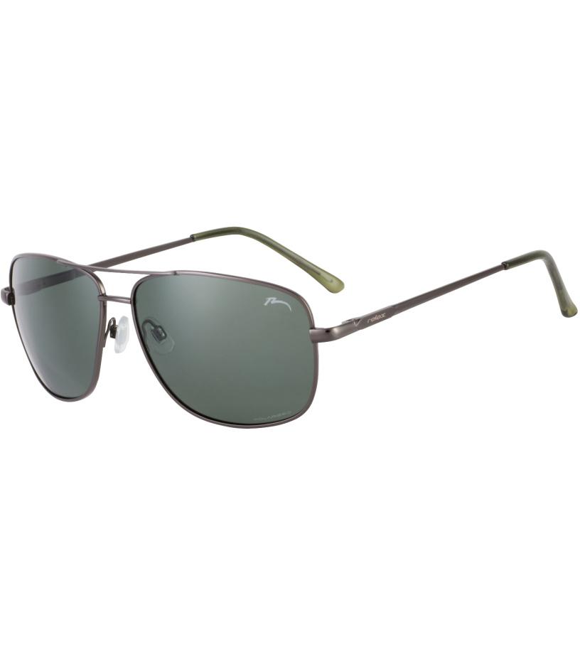 RELAX Sando Sluneční brýle R1127A tmavě kovová