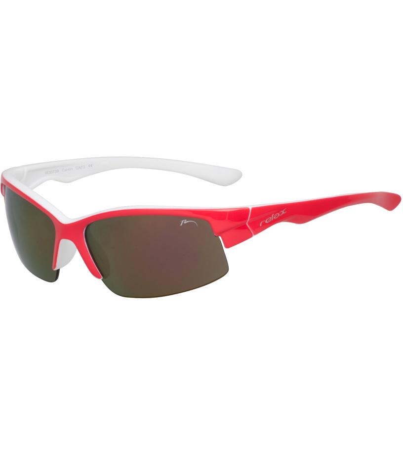 RELAX CANTIN Sportovní sluneční brýle R3073B červená 54-56