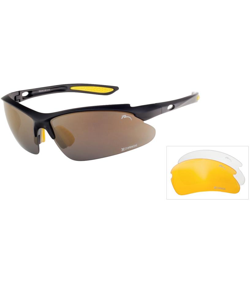 RELAX Mosera Sluneční brýle sportovní R5314C černá