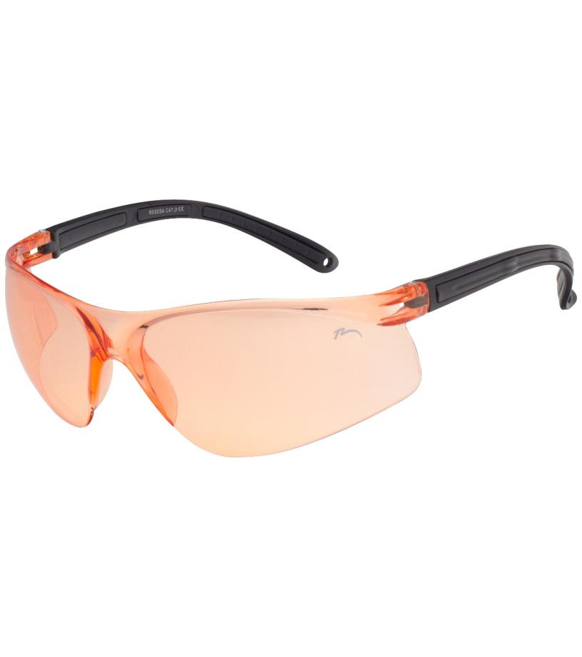 RELAX Zulawy Sluneční brýle sportovní R5325A černo oranžová