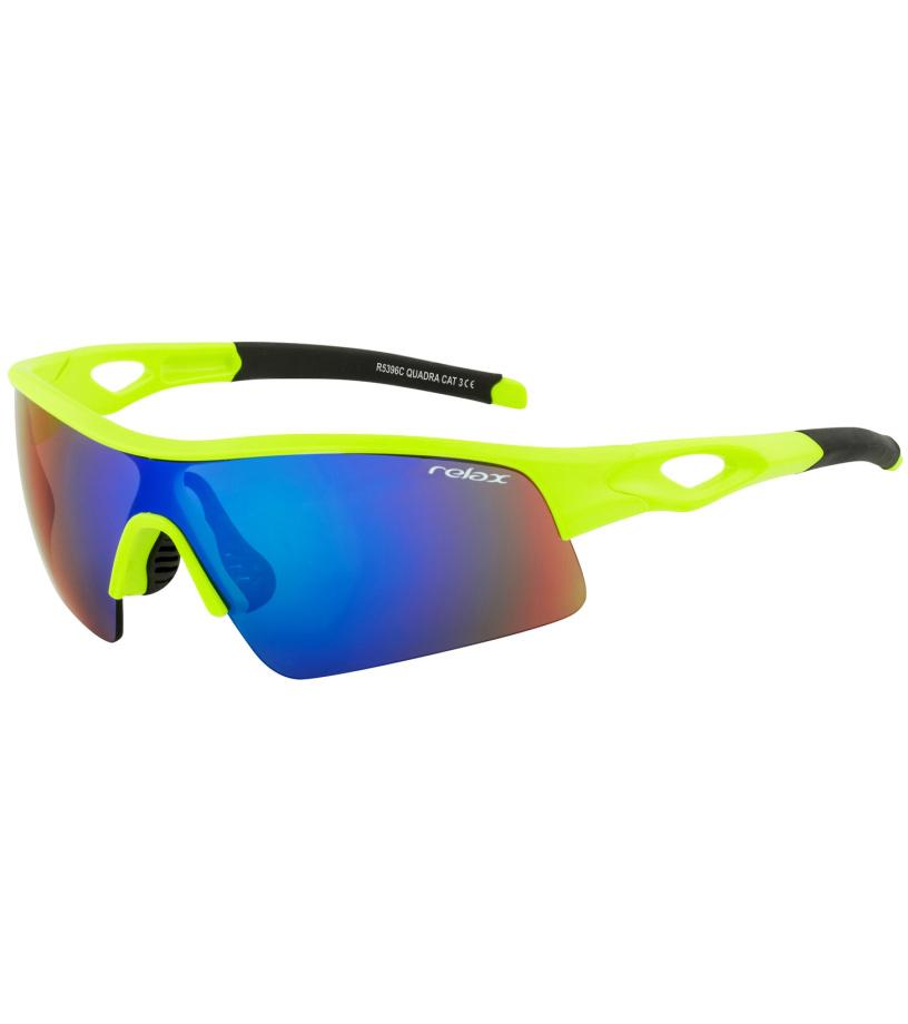 RELAX QUADRA Sportovní sluneční brýle R5396C