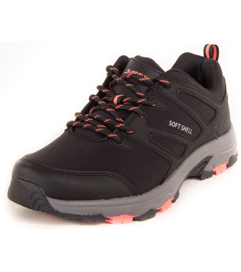 ALPINE PRO LUBA Dámská outdoorová obuv LBTK153990GL černá 36