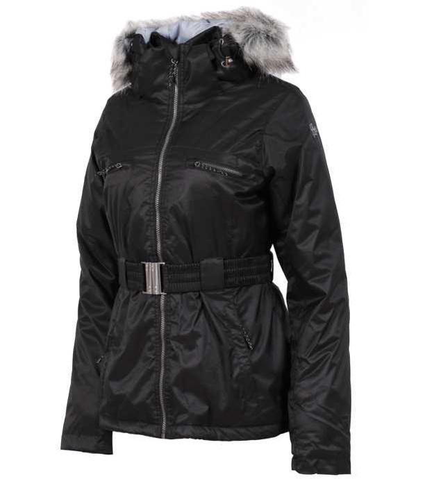ALPINE PRO DOSOJINA Dámská zimní bunda LJCK202990RR černá XL