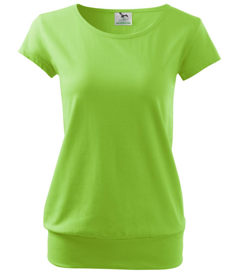ADLER City Dámské triko 12092 zelené jablko M