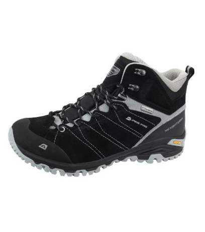 ALPINE PRO TRIGLAV MID Uni outdoorová obuv UBTH033990 černá 36