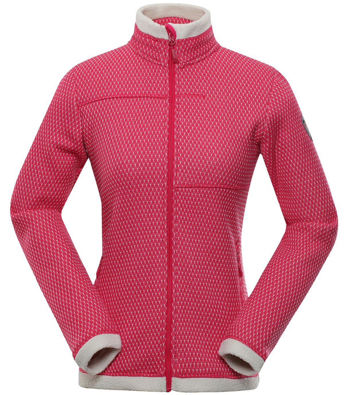 ALPINE PRO HOBA Dámský svetr LPLP068450 virtual pink XXL