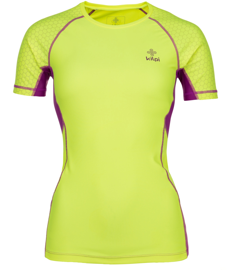 KILPI Dámské kompresní tričko COMBO-W IL0037KIYEL Žlutá 34