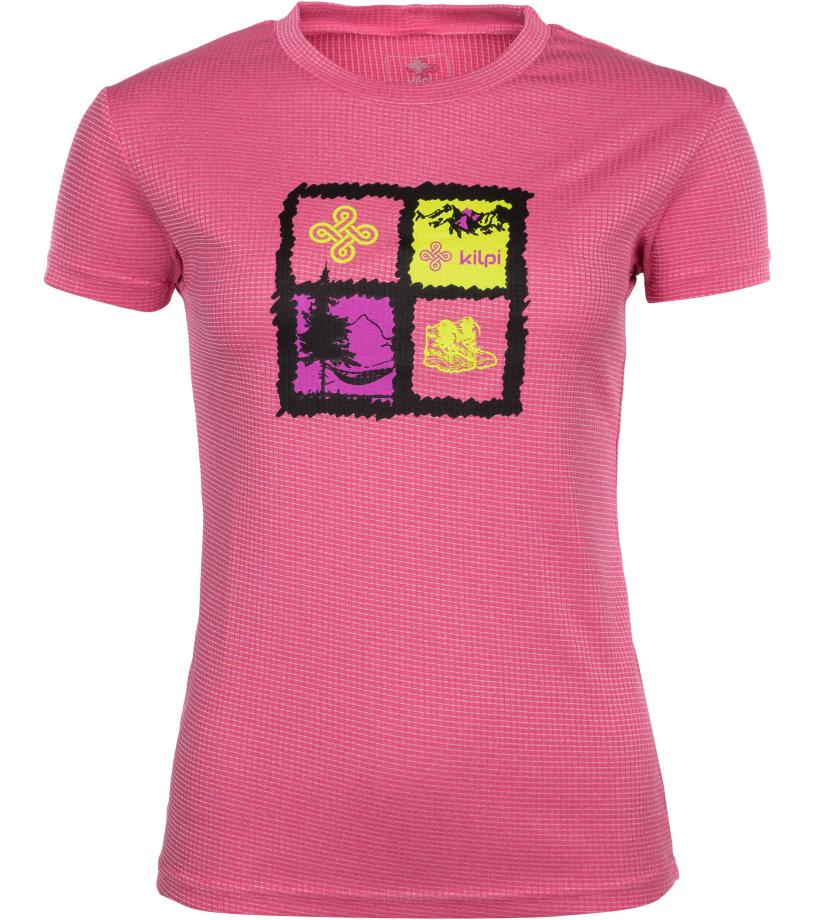 KILPI Dámské funkční tričko GIACINTO-W IL0047KIPNK Růžová 46