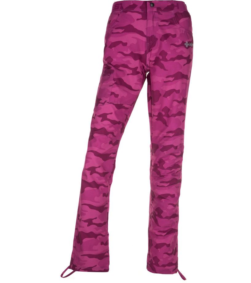 KILPI Dámské outdoor kalhoty MIMICRI-W IL0329KIPNK Růžová 40