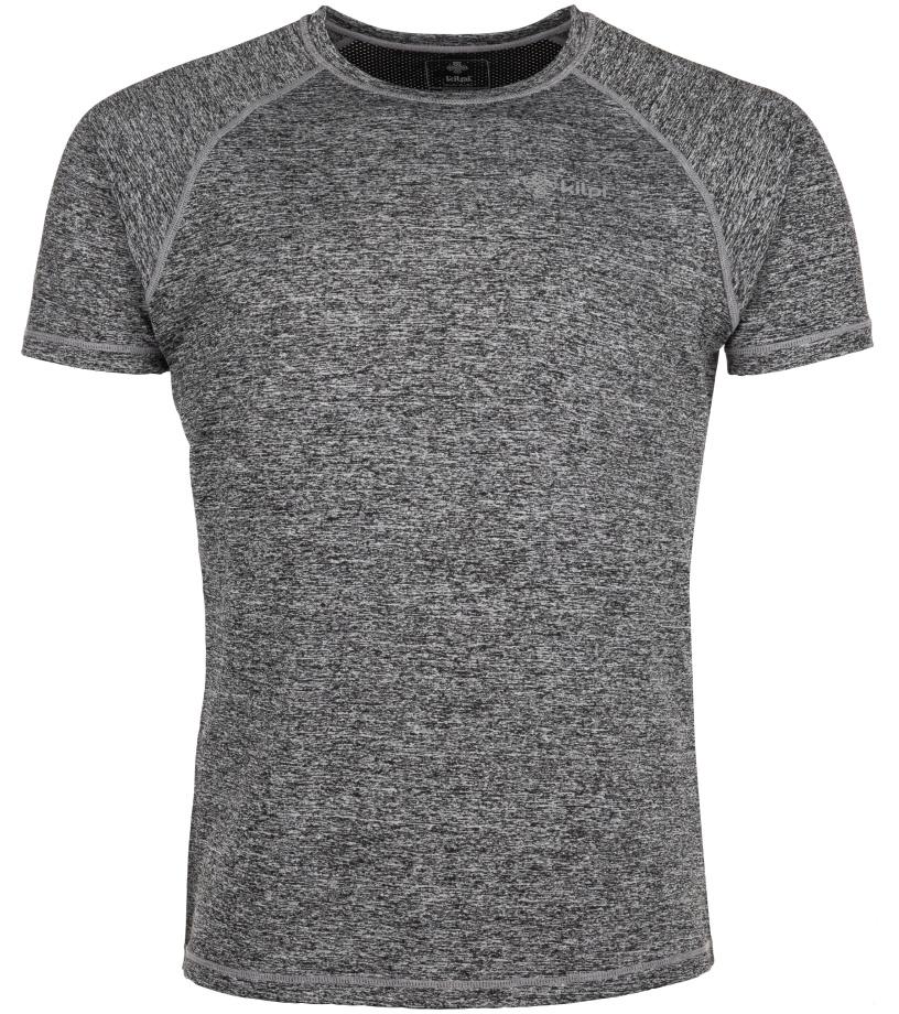 KILPI Pánské tričko BORDER-M IM0055KIDGY Tmavě šedá