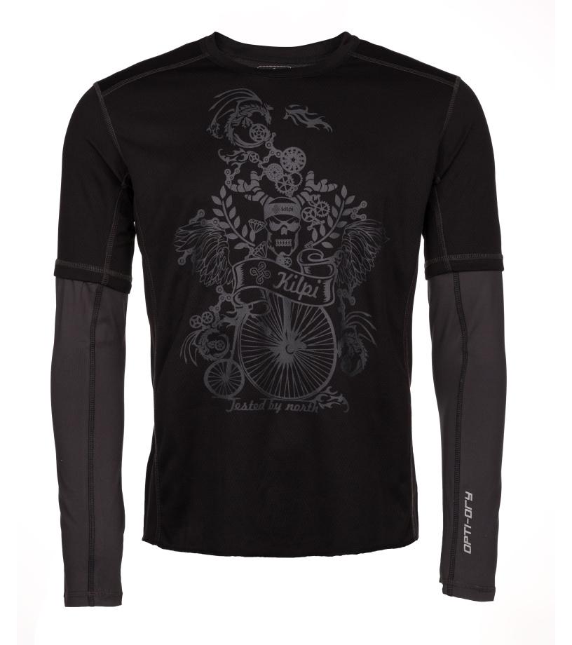 KILPI Pánské funkční tričko EXPLOSION-M IM0079KIDGY Tmavě šedá