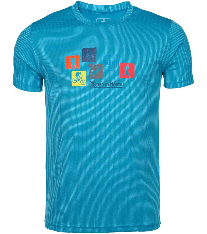KILPI Pánské funkční tričko GIACINTO-M IM0110KIBLU Modrá