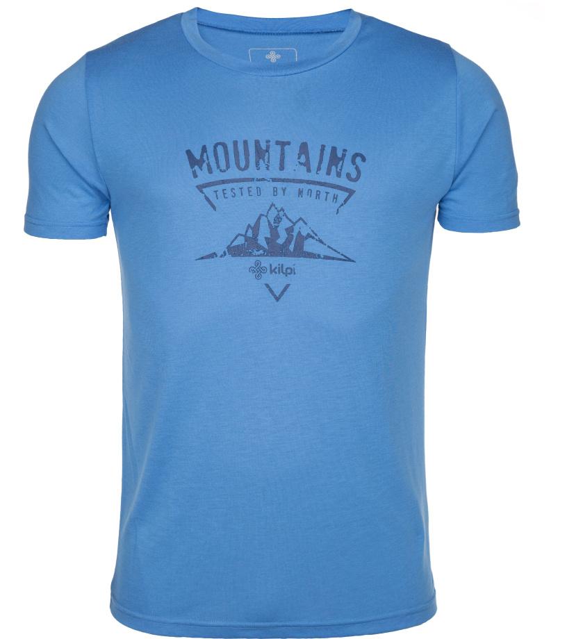 KILPI Pánské tričko GAROVE-M IM0181KIBLU Modrá