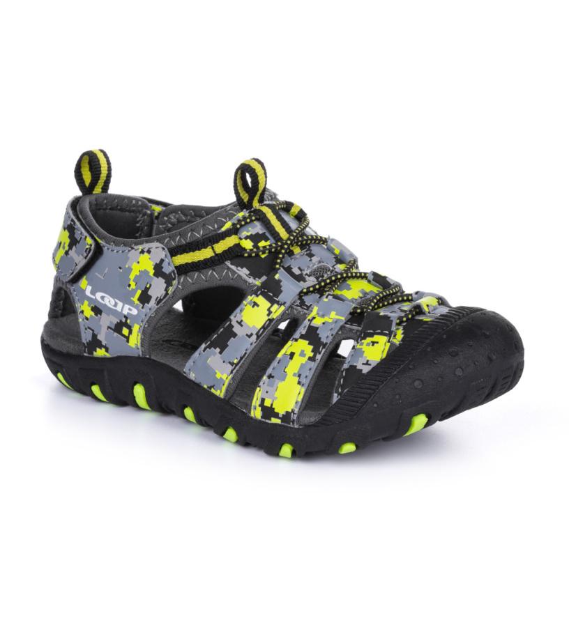 LOAP DOPEY Dětské sandále GSU1607V21C Tap Shoe / Yellow 33