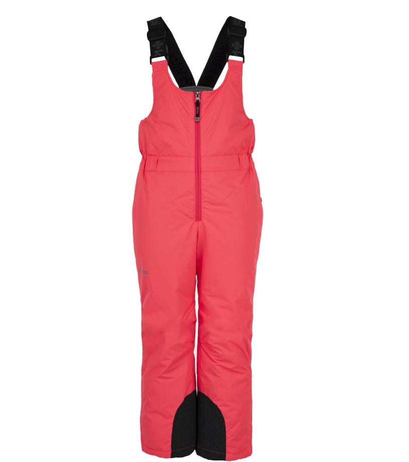 KILPI Dívčí lyžařské kalhoty FUEBO-JG JJ0024KIPNK Růžová 134