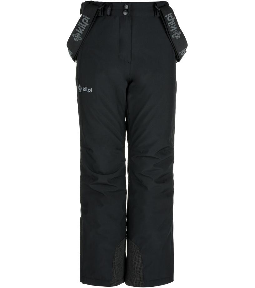 KILPI Dívčí lyžařské kalhoty EUROPA-JG JJ0045KIBLK Černá 134