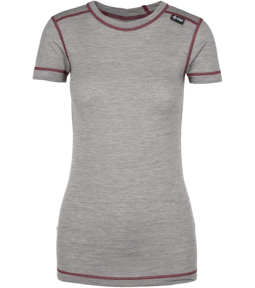 KILPI Dámské termo tričko MERIN-W JL0141KIDGY Tmavě šedá