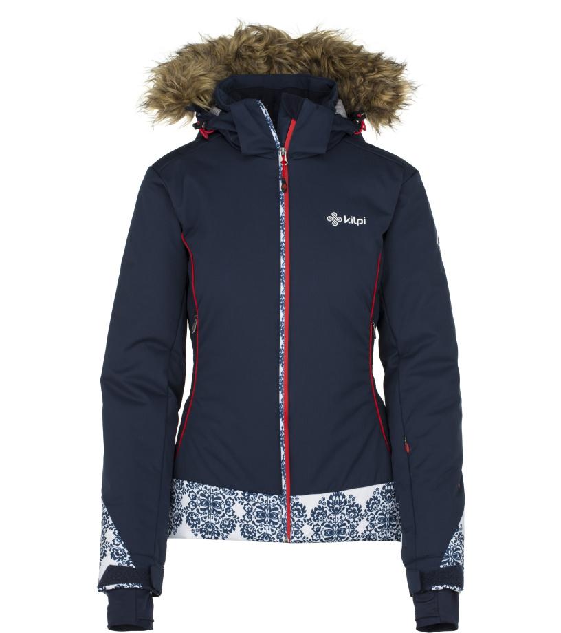 KILPI Dámská lyžařská bunda VERA-W JL0199KIDBL Tmavě modrá