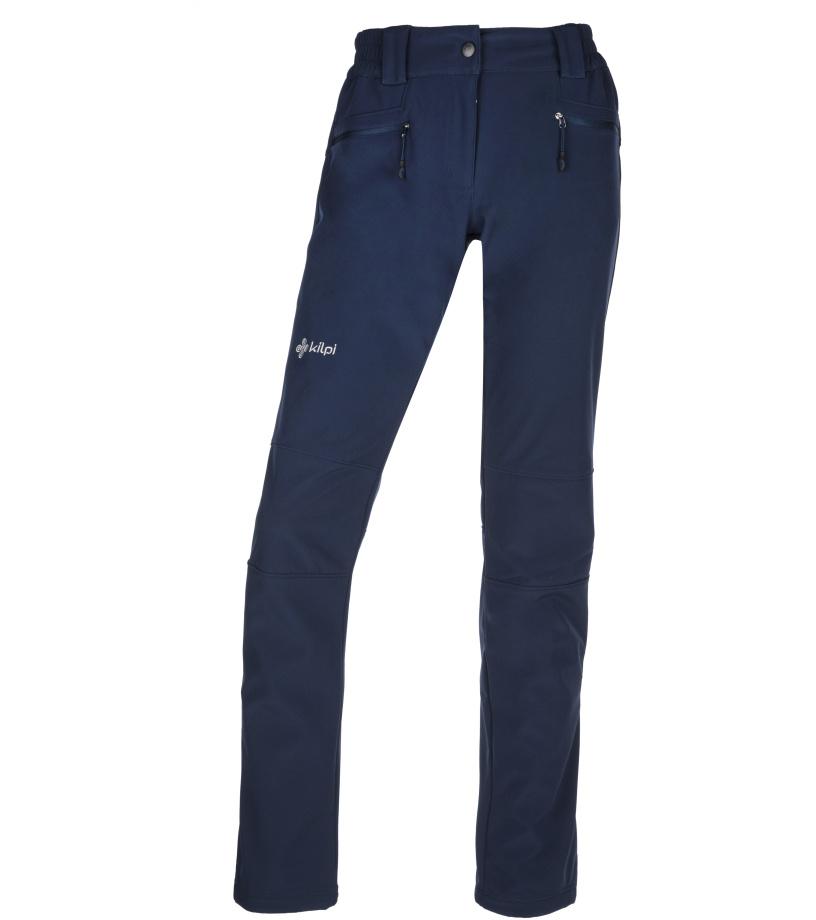 KILPI Dámské softshellové kalhoty MANILOU-W JL0210KIDBL Tmavě modrá
