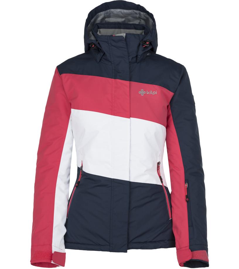 KILPI Dámská lyžařská bunda KALLY-W JL0241KIDBL Tmavě modrá