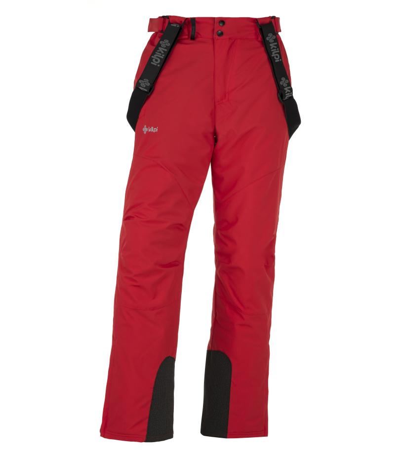 KILPI Pánské lyžařské kalhoty MIMAS-M JM0013KIRED Červená