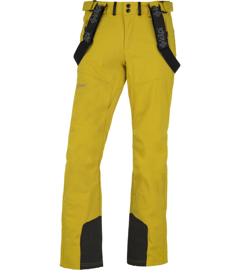 KILPI Pánské softshellové kalhoty RHEA-M JM0014KIYEL Žlutá L