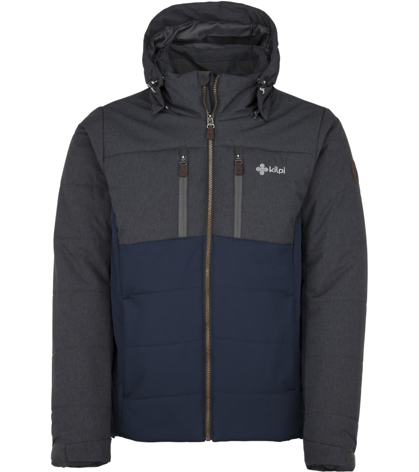 KILPI Pánská zimní bunda TORRES-M JM0055KIDBL Tmavě modrá
