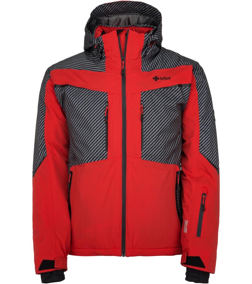 KILPI Pánská lyžařská bunda IO-M JM0113KIRED Červená
